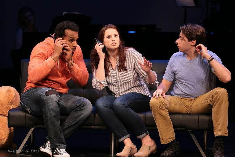 BWW Review:  I LOVE YOU YOU'RE PERFECT NOW CHANGE at Hamilton Stage is Poignant and Humorous