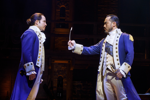 Photos Get A First Look At The 2nd National Tour Of Hamilton