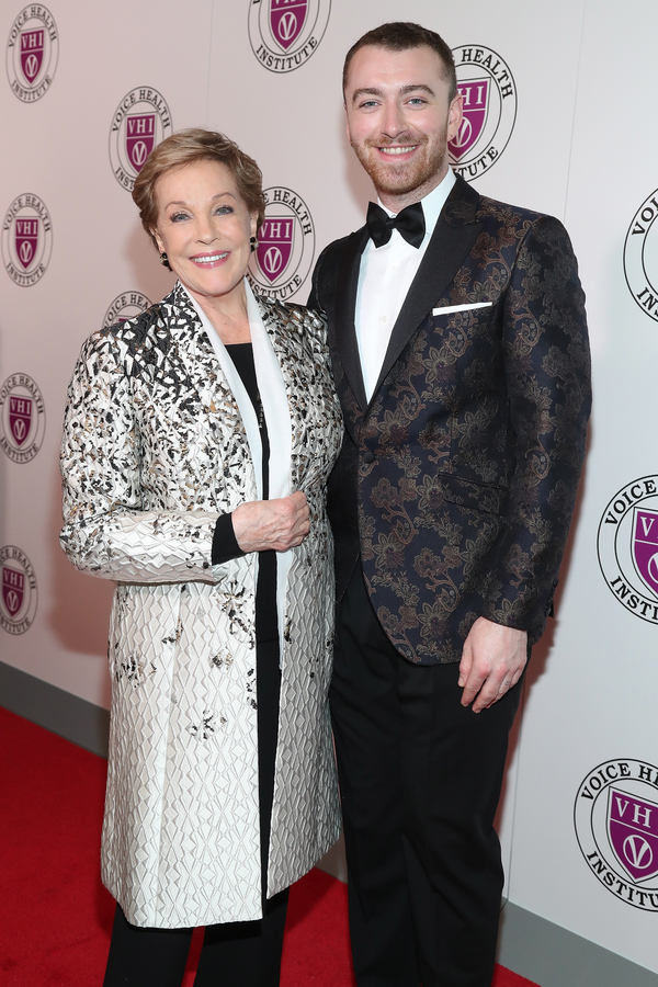 Julie Andrews and Sam Smith