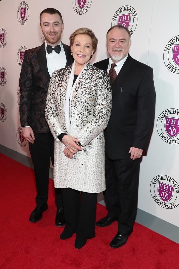 Sam Smith, Julie Andrews and Steven Zeitels