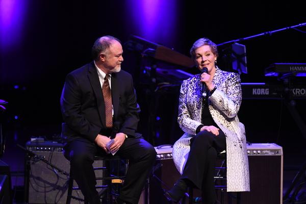 Julie Andrews and Steven Zeitels