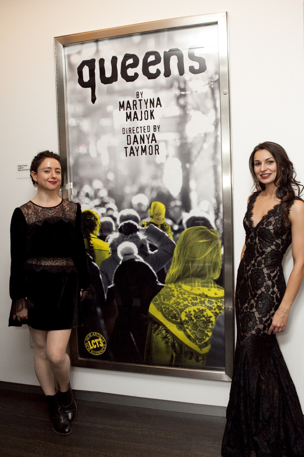 queens director Danya Taymor and playwright Martyna Majok