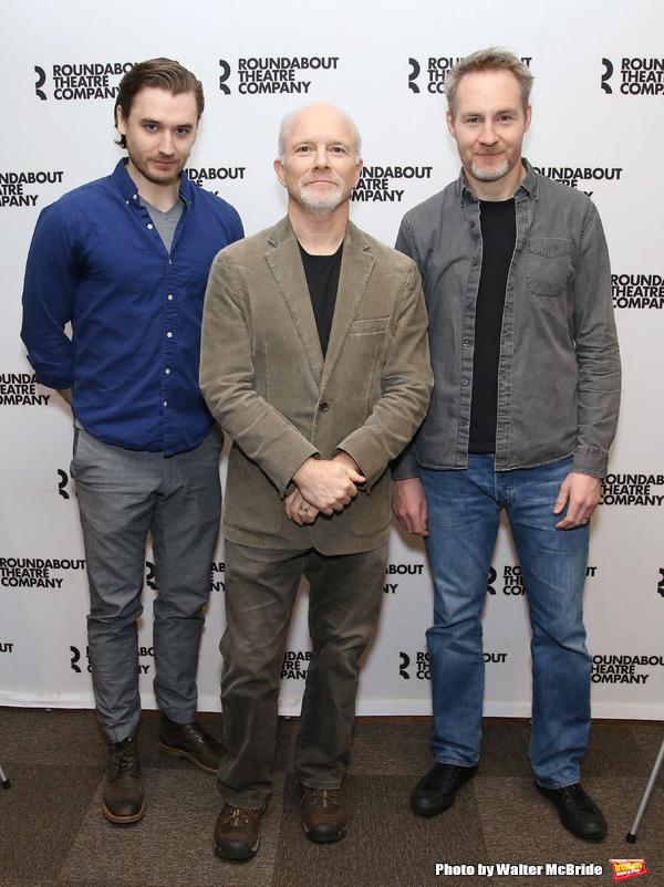 Seth Numrich, Dan Butler and Peter McDonald