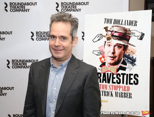 Photo Coverage: The Cast of Roundabout's TRAVESTIES Meets The Press