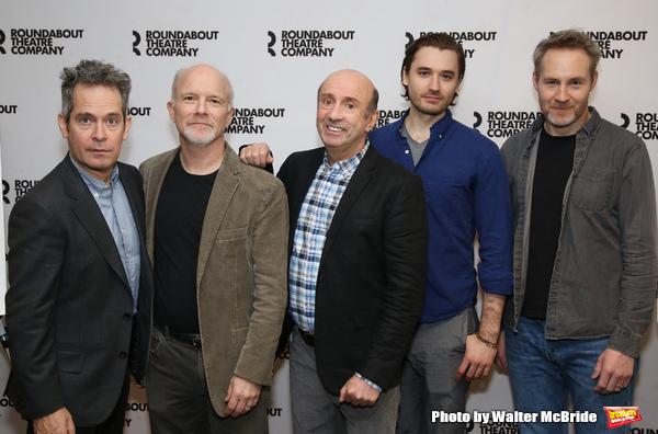 Tom Hollander, Dan Butler, Patrick Kerr, Seth Numrich, and Peter McDonald