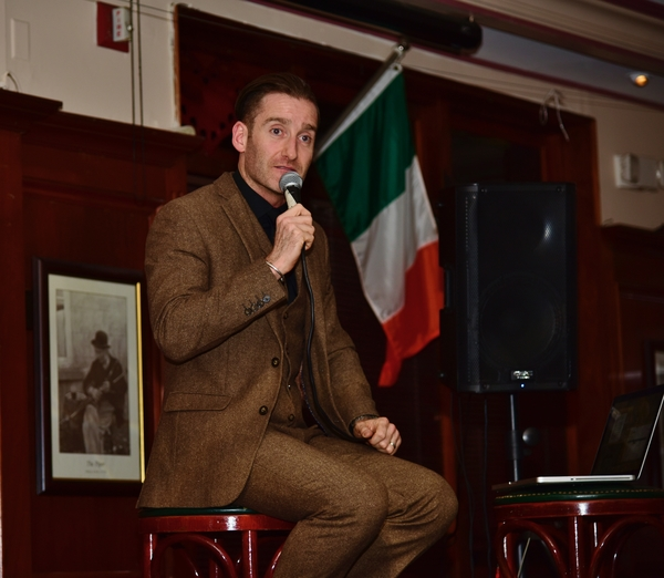 Photo Coverage: Paul Byrom Kicks Off His U.S. Tour with a Return to Rory Dolan's