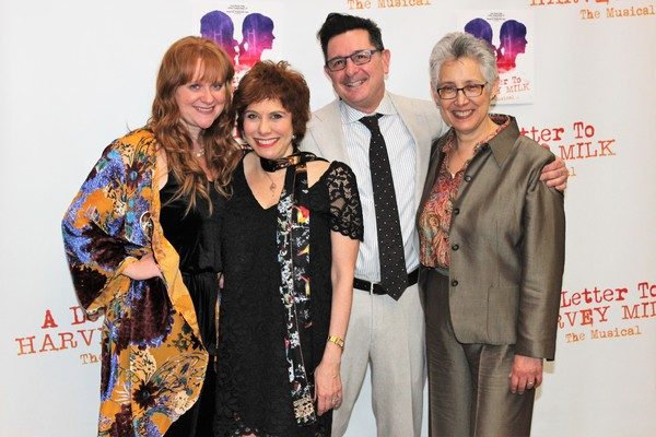 Lisa Dozier King, Cheryl King, Evan Pappas and Laura Kramer