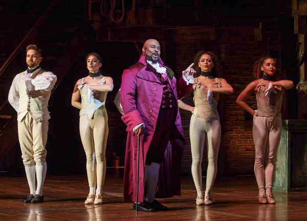 Photo Flash: Get A First Look at the New Broadway Cast of HAMILTON
