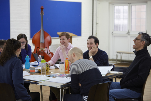 Photo Flash: In Rehearsal with MISS NIGHTINGALE