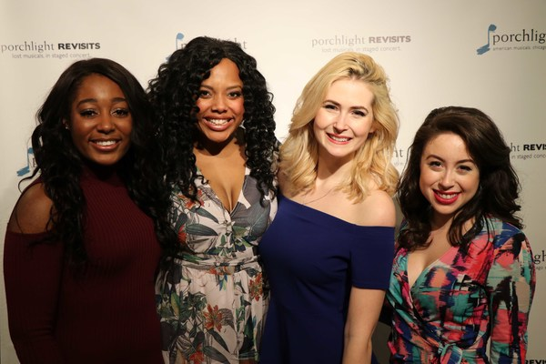 (L to R) Actors Tyler Symone, Sharriese Hamilton, Kiersten Frumkin and Anastasia Arno Photo