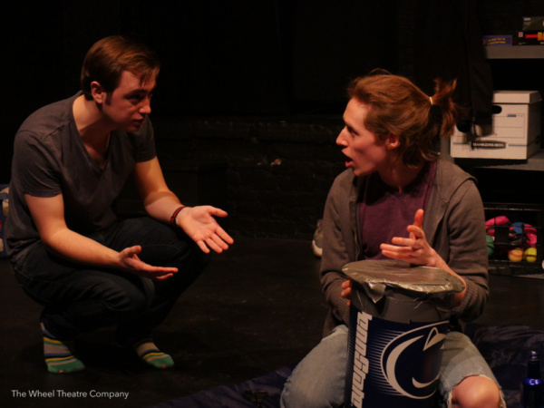 Photo Flash: First Look At A BURIAL PLACE At The Wheel Theatre Company
