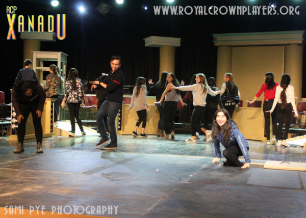 Photo Flash: Royal Crown Players In Rehearsal for XANADU