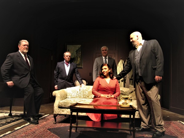 Photo Flash: DIAL 'M' FOR MURDER Brings Mystery to The Granite Theater