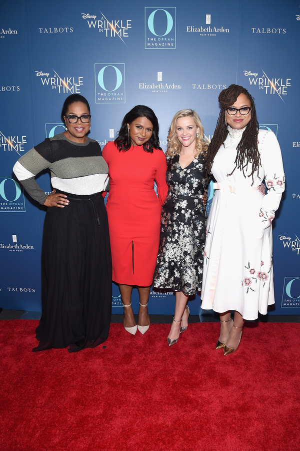 Oprah Winfrey, Mindy Kaling, Reese Witherspoon and Ava DuVernay
