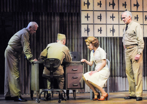 Curt Denham (Commander William Haribson), Josh Kolb (Yeoman Herbert Quale), Erin Davie (Nellie Forbush) and Peter W. Galman (Captain George Bracket)
