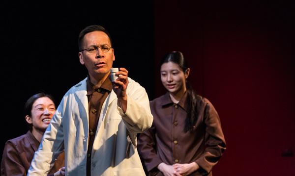 Helen Joo Lee, Gordon Chow and Jin Park