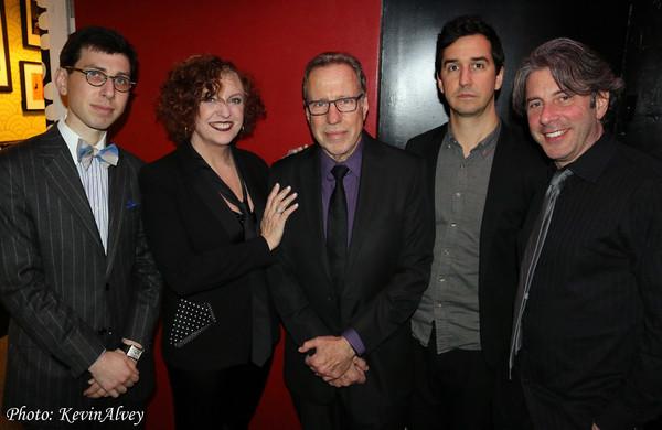 Aaron Weinstein, Cheryl Bentyne,Yaron Gershovksy,  Matt Aranoff, Clint Deganon