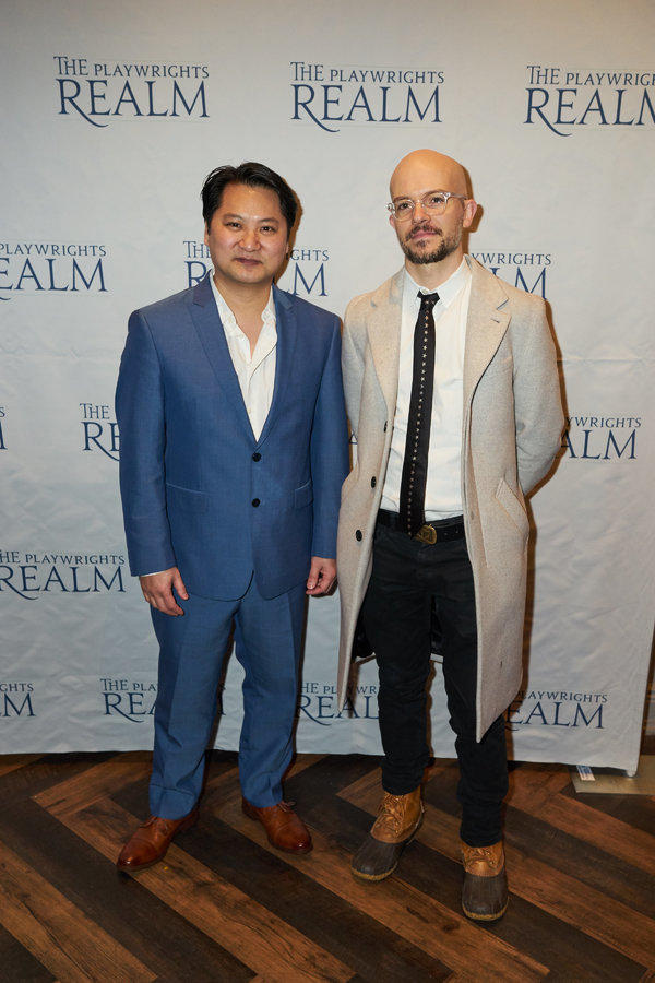 Page One Resident Playwrights: Don Nguyen and Michael Yates Crowley       Photo
