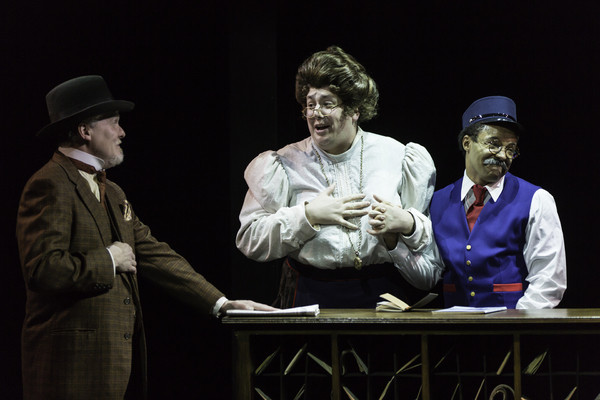 Photo Flash:Long Wharf Theatre to Present Ken Ludwig's BASKERVILLE