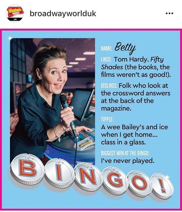 Jane McCarry as Betty.