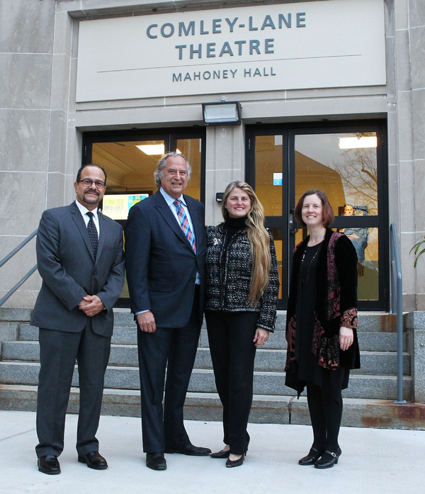Luis Falcon, Stewart F. Lane, Bonnie Comley and Bridget Marshall