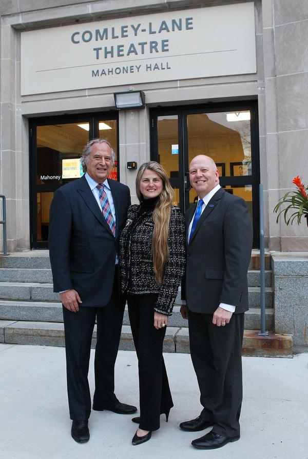 Stewart F. Lane, Bonnie Comley and John Feudo