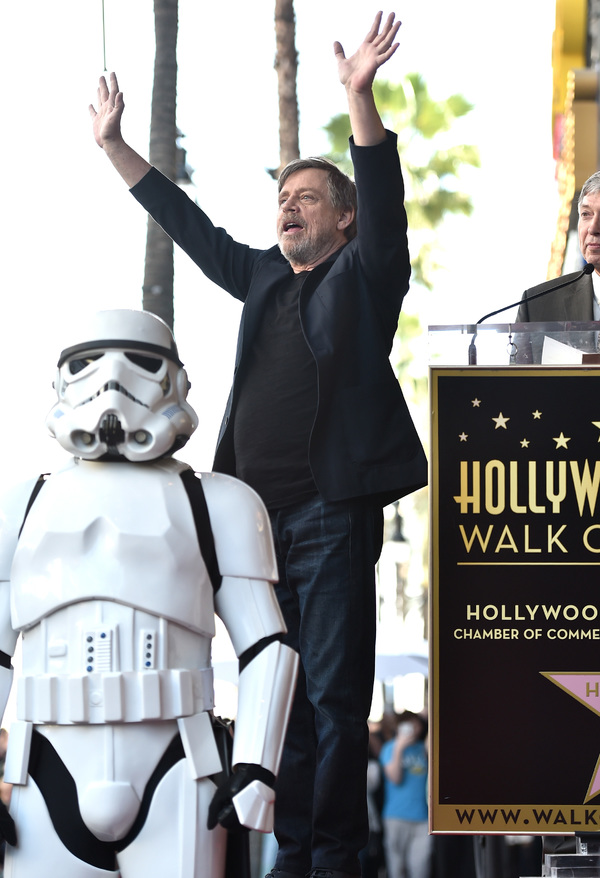 Photos: Mark Hamill Receives Star on the Hollywood Walk of Fame