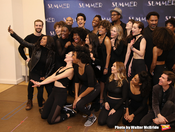 Photo Coverage: Meet the Cast of SUMMER: THE DONNA SUMMER MUSICAL