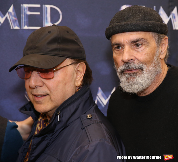 Tommy Mottola and Bruce Sudano