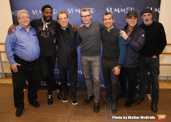 Ron Melrose, Colman Domingo, Des McAnuff, Robert Gary, Sergio Trujillo, Tommy Mottola and Bruce Sudano