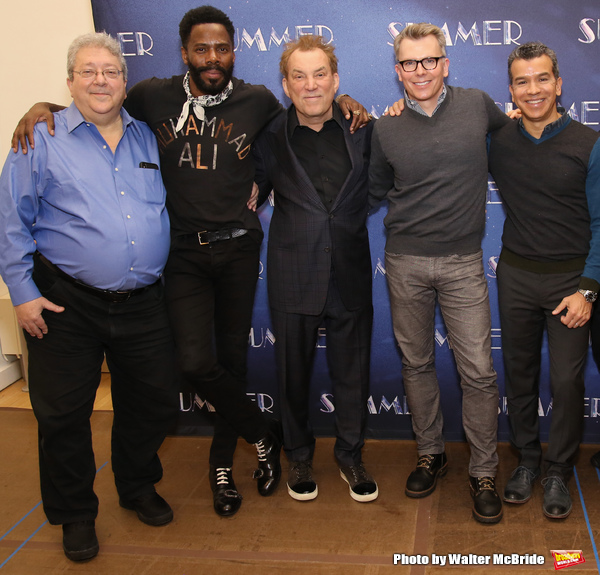 Ron Melrose, Colman Domingo, Des McAnuff, Robert Gary, Sergio Trujillo  Photo