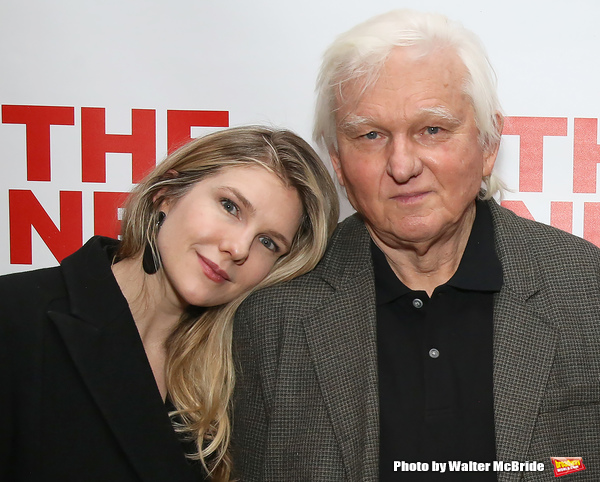 Lily Rabe and David Rabe Photo