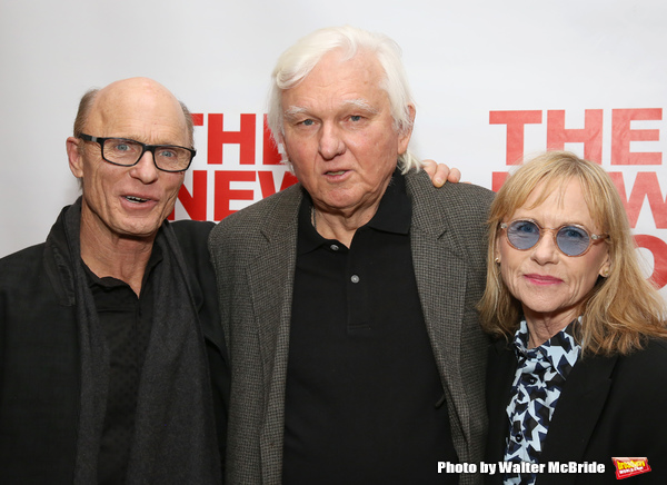Ed Harris, David Rabe and Amy Madigan