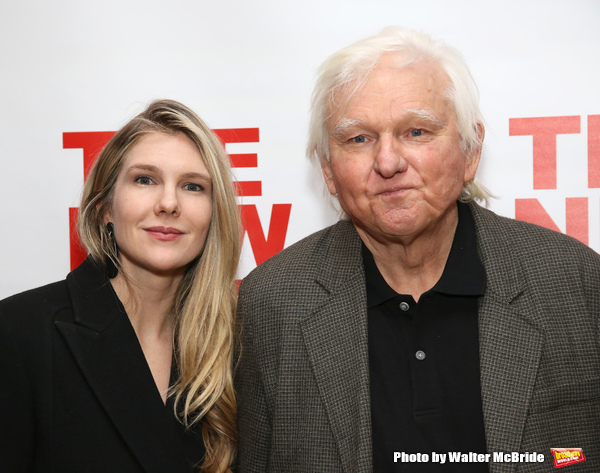 Lily Rabe and David Rabe