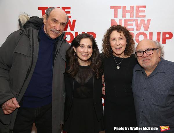 F. Murray Abraham, Lucy Devito, Rhea Perlman and Danny Devito