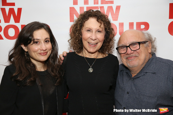 Lucy Devito, Rhea Perlman and Danny Devito  Photo