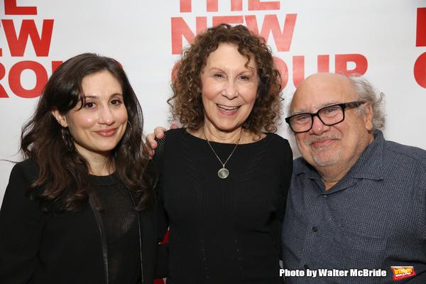 Lucy Devito, Rhea Perlman and Danny Devito