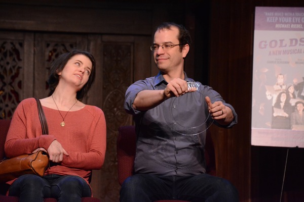 Photos: The Cast of the New Musical GOLDSTEIN Meets The Press