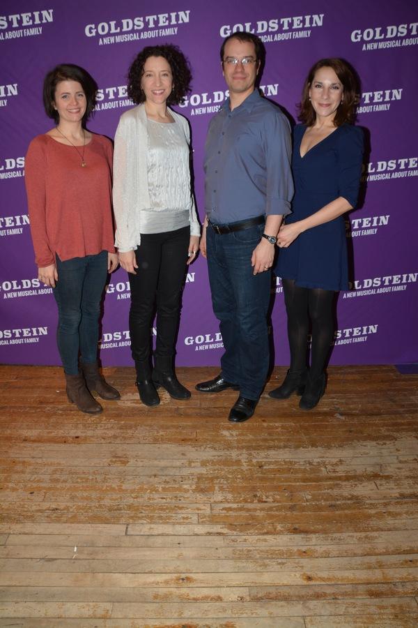 Sarah Beth Pfeifer, Amie Bermowitz, Aaron Galligan-Stierle and Blair Alexis Brown
