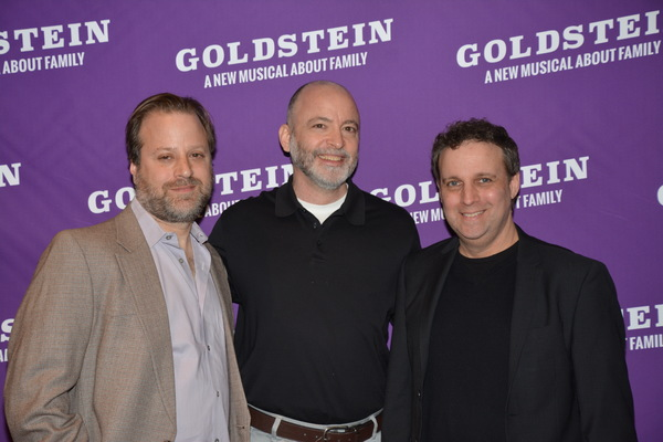 Charlie Schulman, Brad Rouse and Michael Roberts Photo