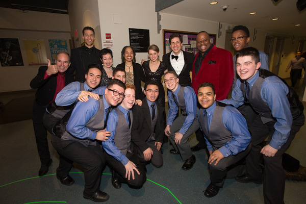 Photo Flash: Young People's Chorus of New York City Celebrates 30th Anniversary Celebration at Jazz at Lincoln Center