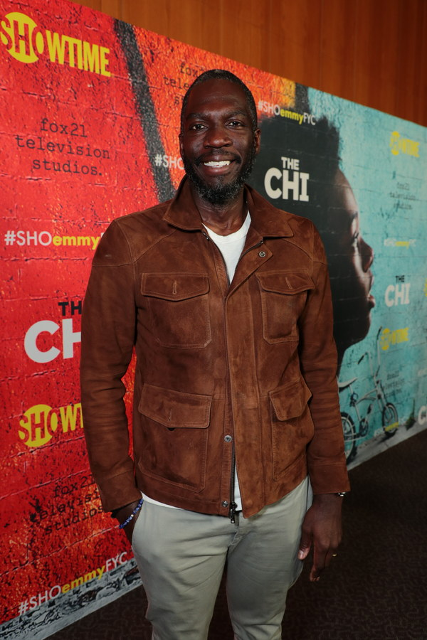 Director Rick Famuyiwa at the 2018 Showtime EMMY FYC screening of THE CHI at DGA on 3/9/18