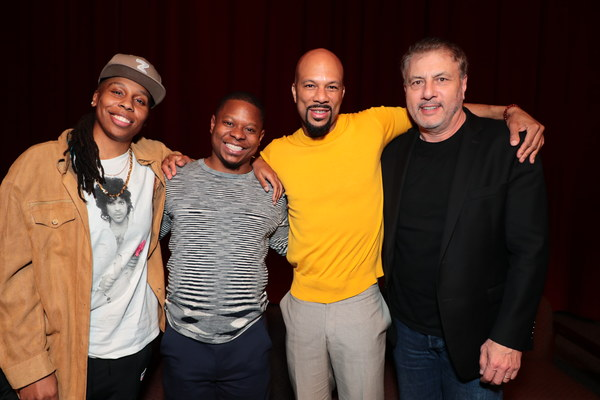 Executive Producer Lena Waithe, Jason Mitchell, Executive Producer Common and Gary Levine, President Of Programming, Showtime Networks Inc. at the 2018 Showtime EMMY FYC screening of THE CHI at DGA on 3/9/18