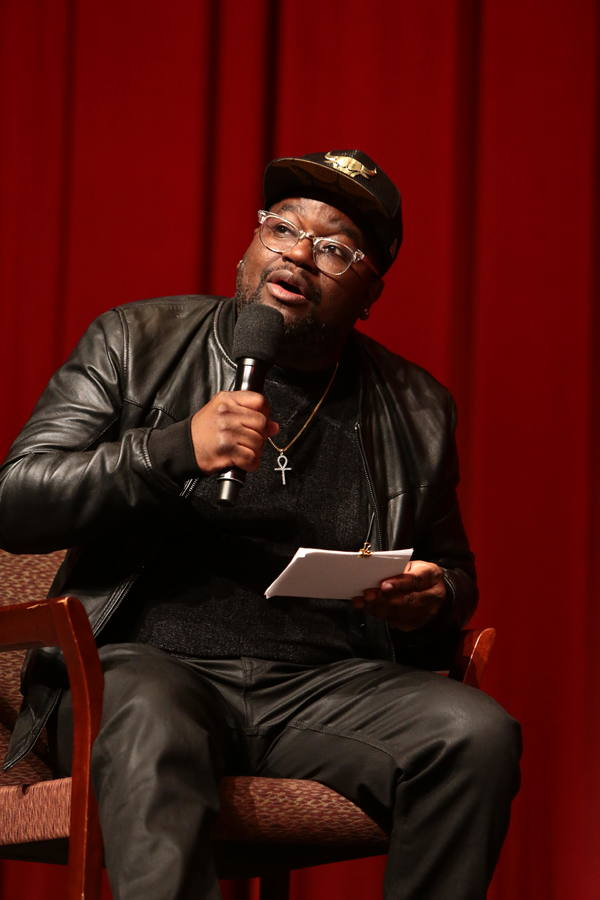 Moderator Lil Rel Howery at the 2018 Showtime EMMY FYC screening of THE CHI at DGA on Photo