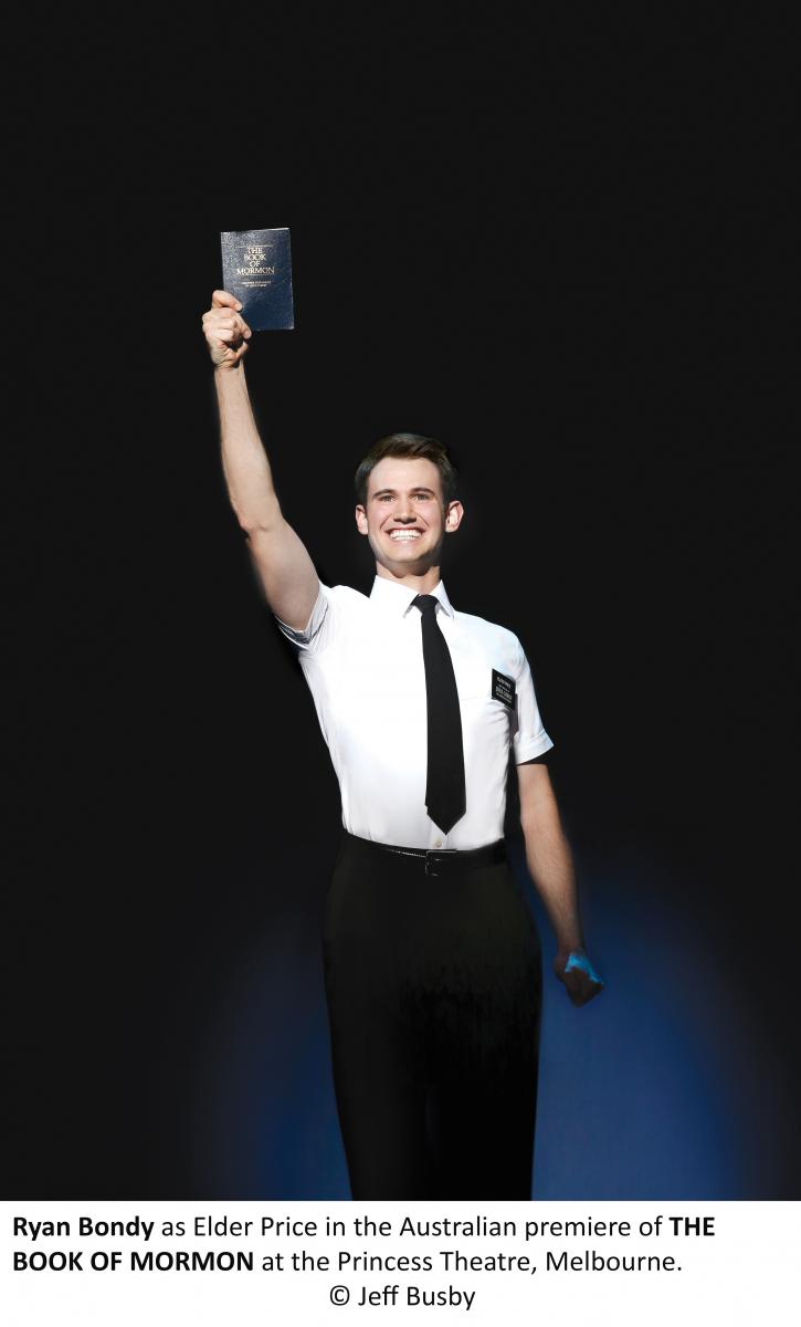 BWW REVIEW: Hilarious, Crass And Incredibly Clever, THE BOOK OF MORMON Opens To Roars Of Laughter In Sydney