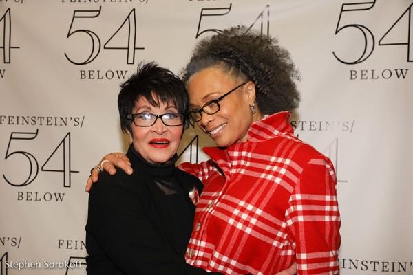 Chita Rivera & Valarie Pettiford Photo