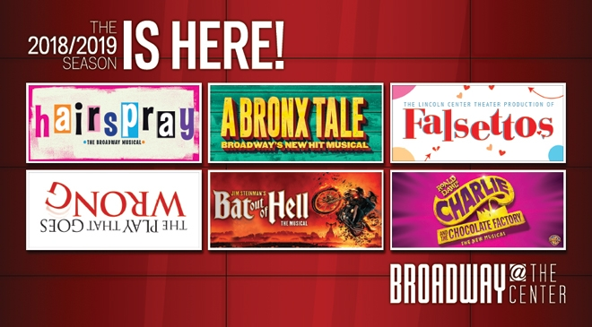 FALSETTOS, A BRONX TALE, and More Join AT&T Performing Arts Center's 2018/19 Season