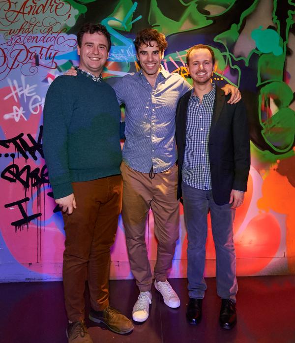 Jonathan Keebler, Scott McCreary, and Ryan Korell