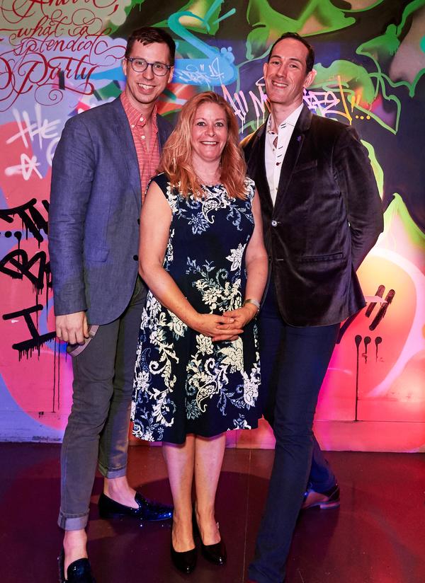 Drew Wutke, Music Director; Laura Josepher & David Sisco