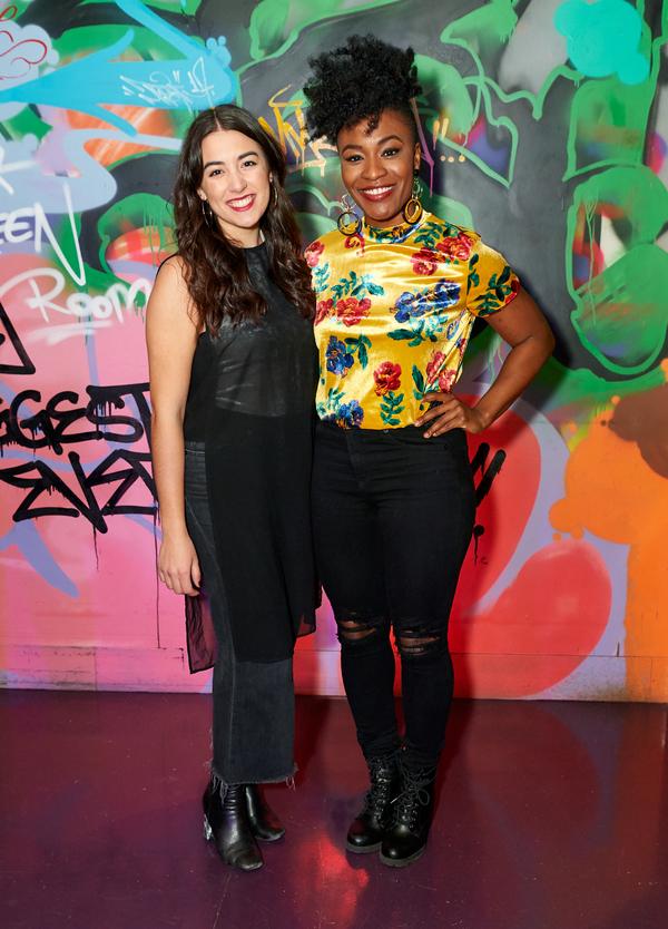 Ana Marcu and Nasia Thomas